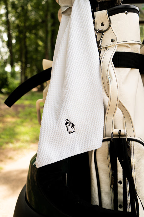 Snowman Golf Towel