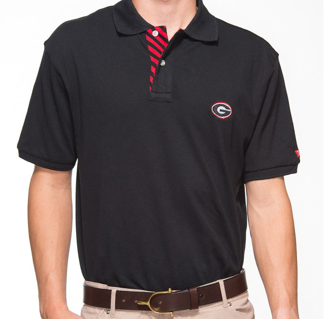 Georgia G Black Polo