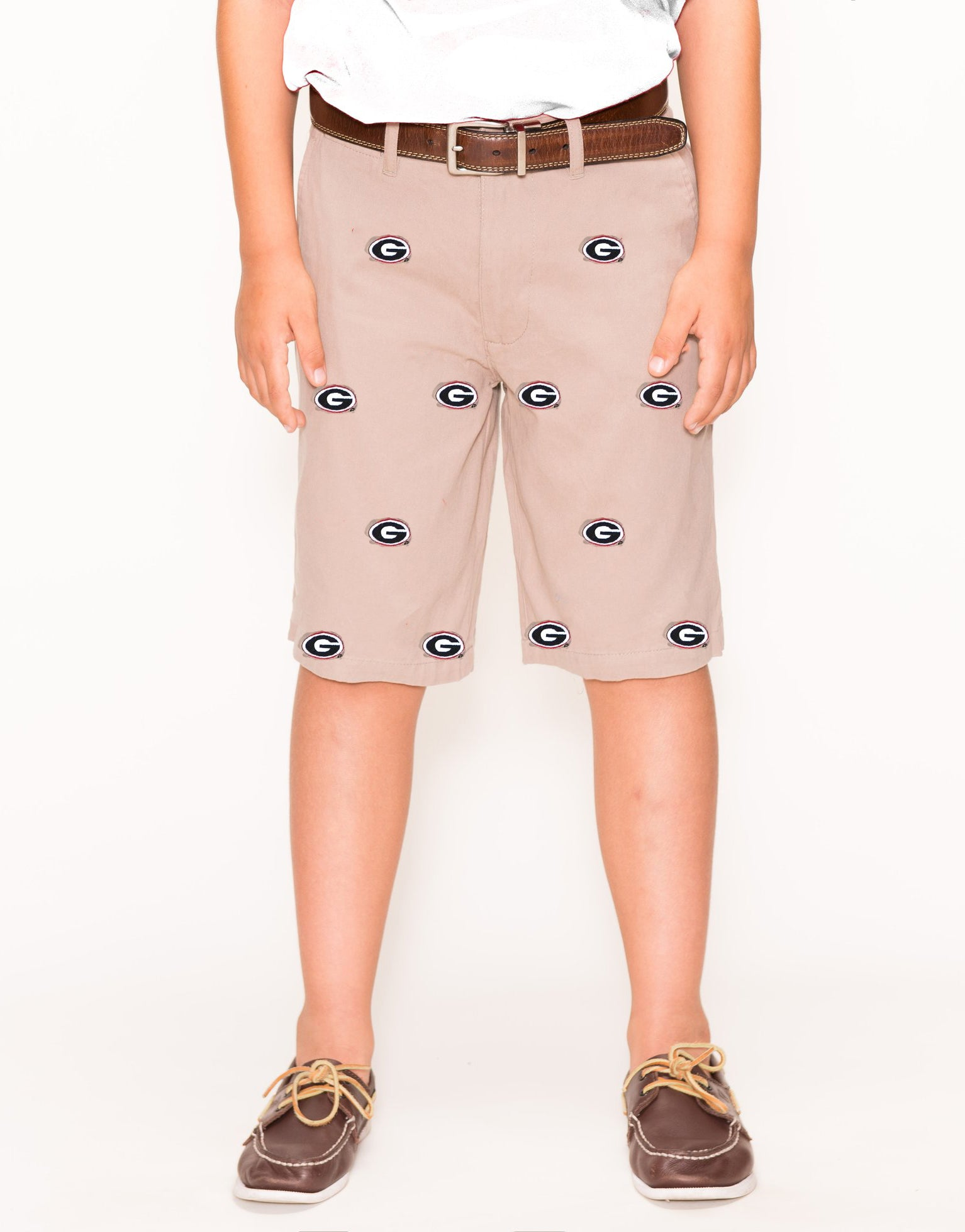 Georgia Boy's Khaki Short