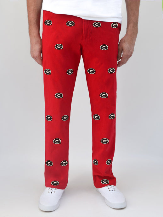 Georgia G Red Pants