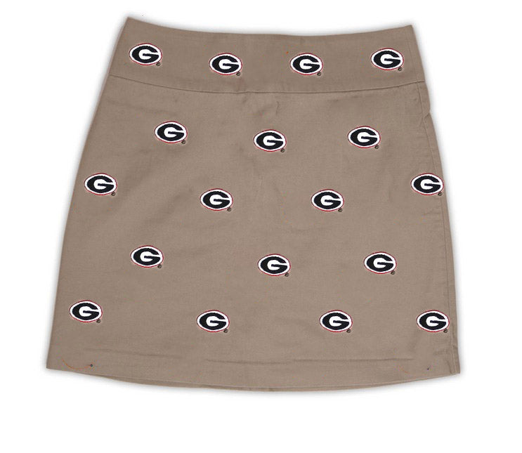 Georgia Girl's Khaki  Skirt
