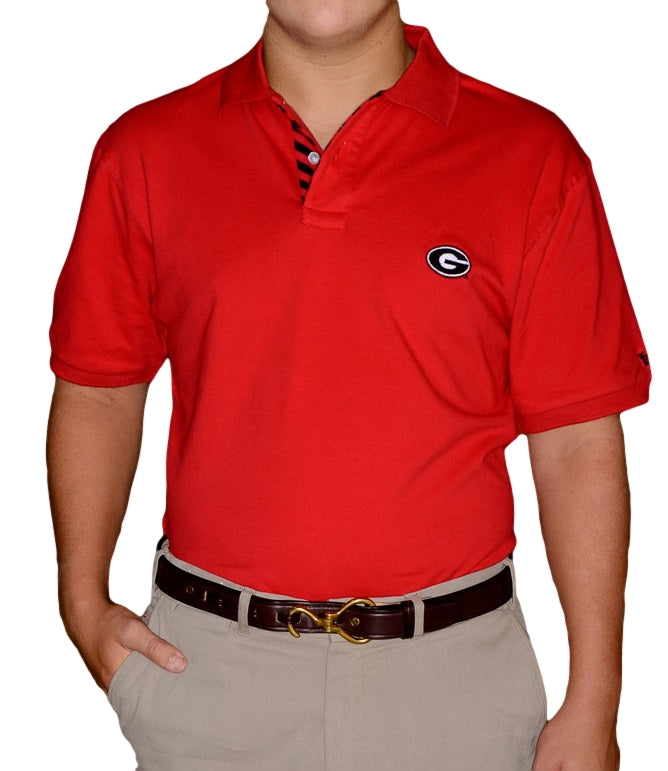 Georgia G Red Polo