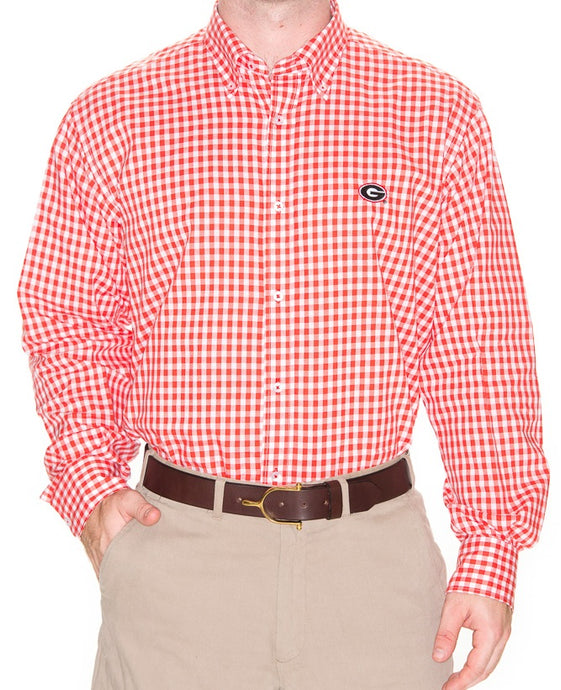 Georgia G Red Gingham