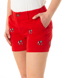 Georgia Women's Bulldog Red Short