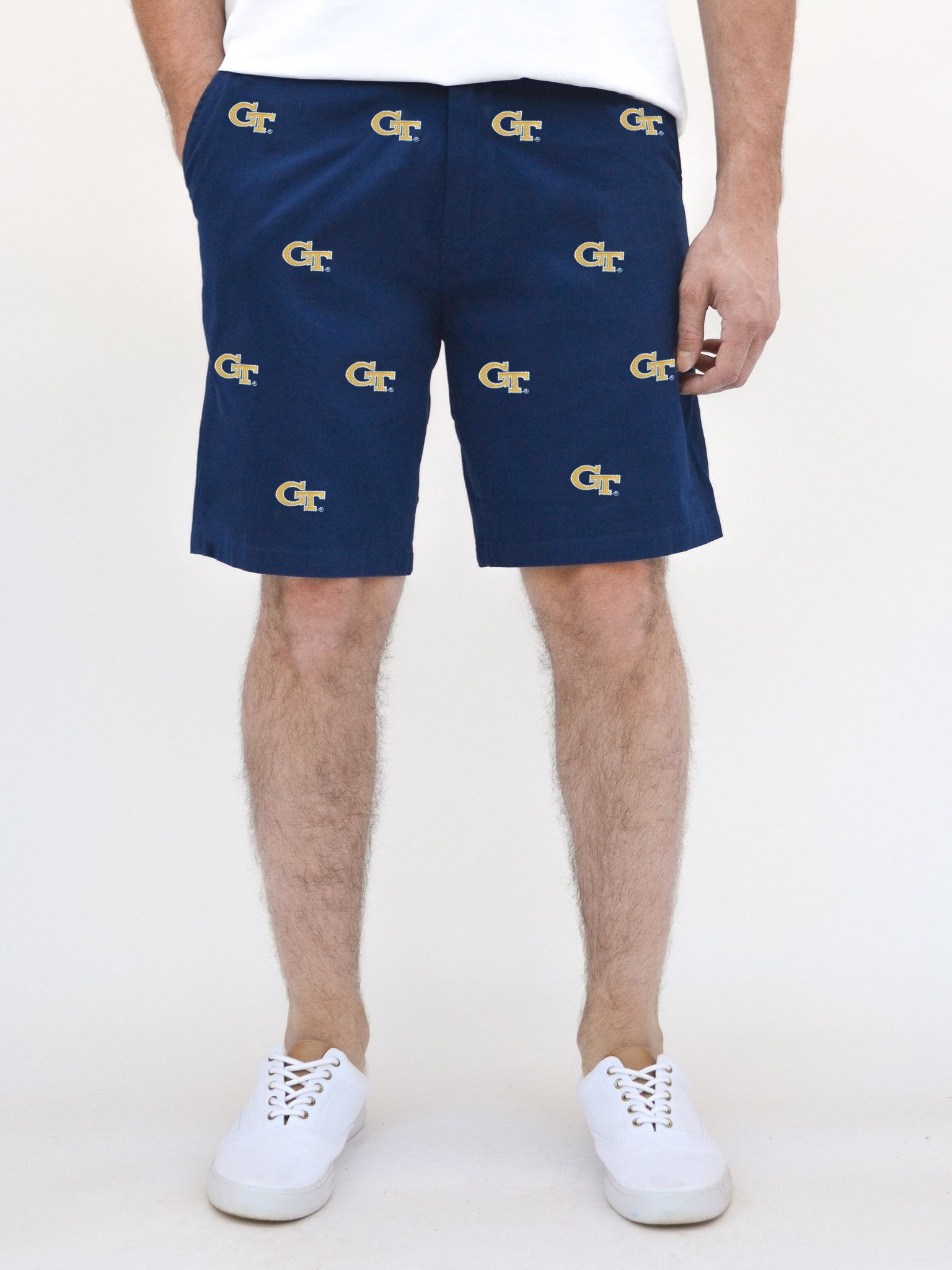 Georgia Tech Blue Short