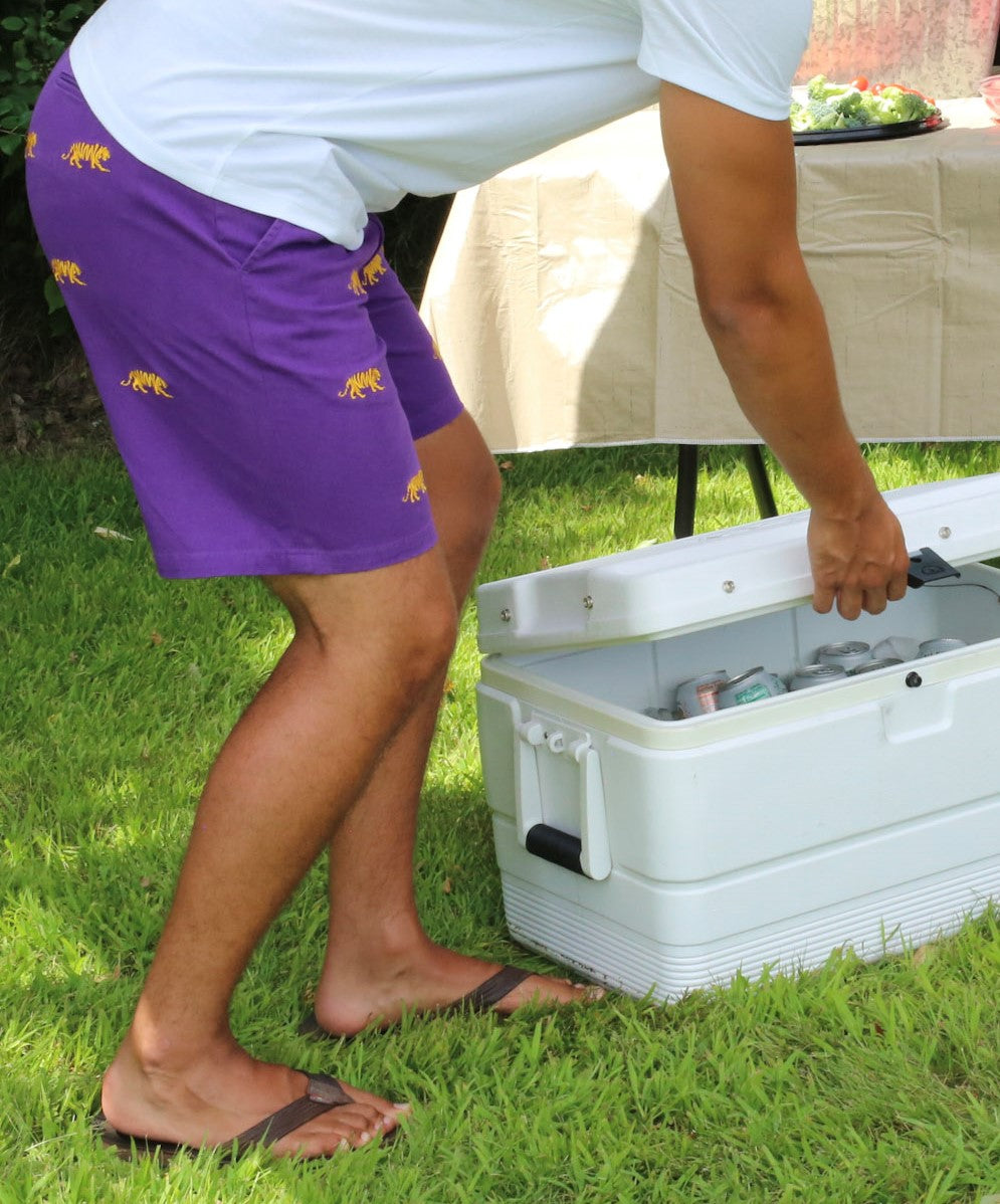 LSU Tiger Purple Shorts