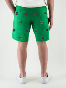 Notre Dame Green Shorts