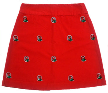 Ohio State Girl's Red Skirt