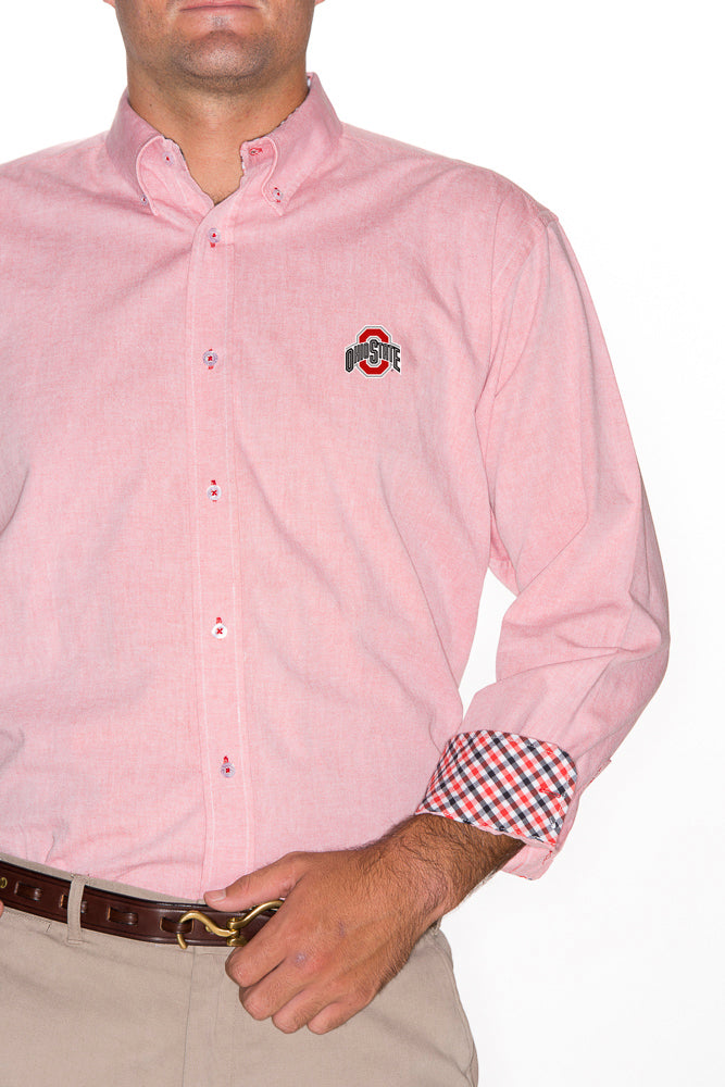 Ohio State Red Oxford