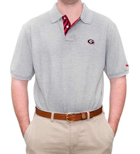 Georgia G Grey Polo