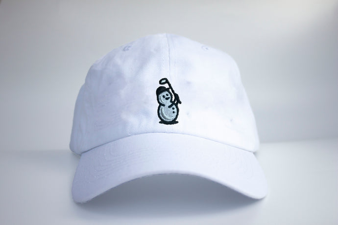 Snowman Icon Dad Hat