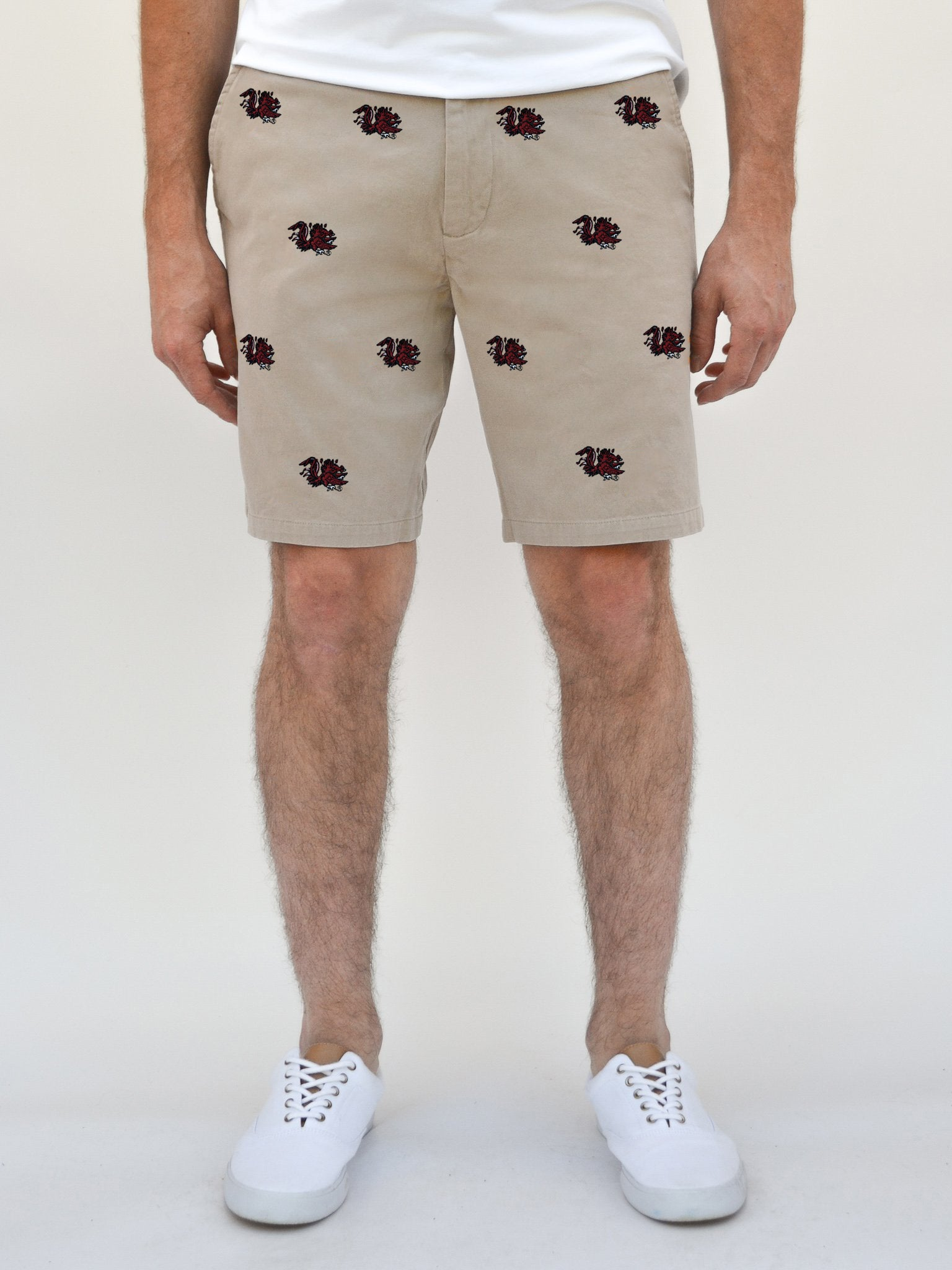 South Carolina Gamecock Khaki Shorts