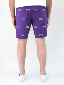 TCU Purple Shorts