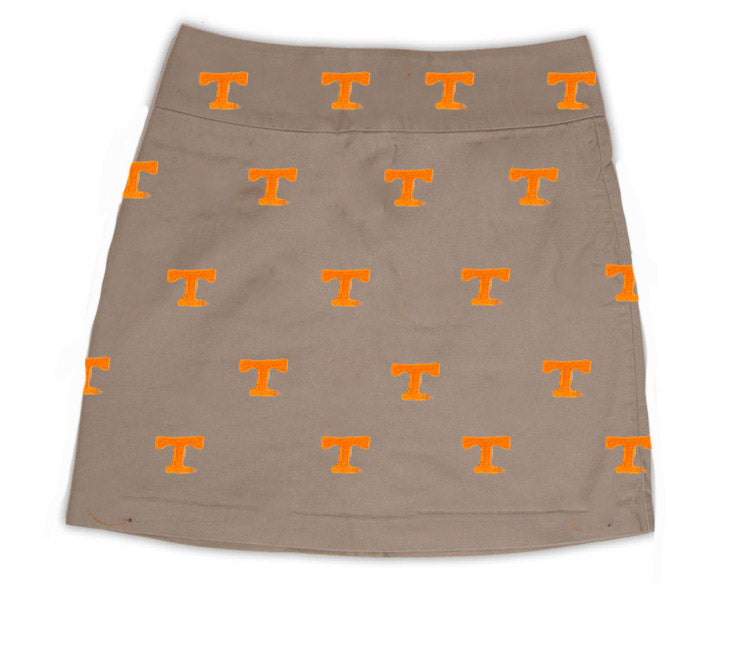 Tennessee Girl's Khaki Skirt