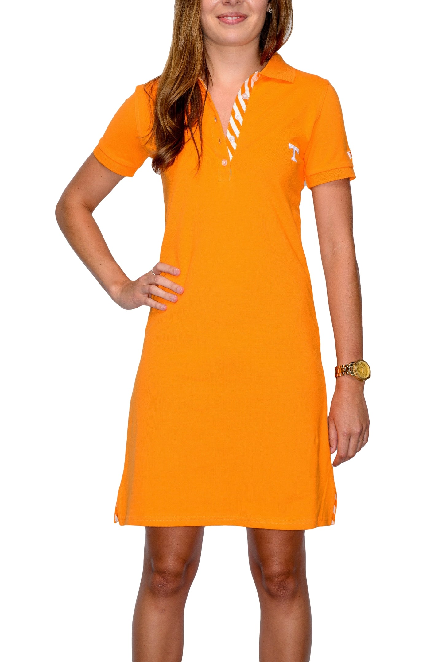 Tennessee Women's Orange Polo Dress