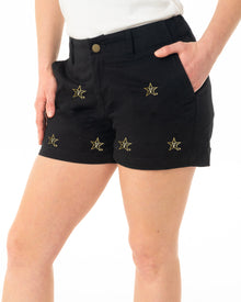 Vanderbilt Women's Black Short