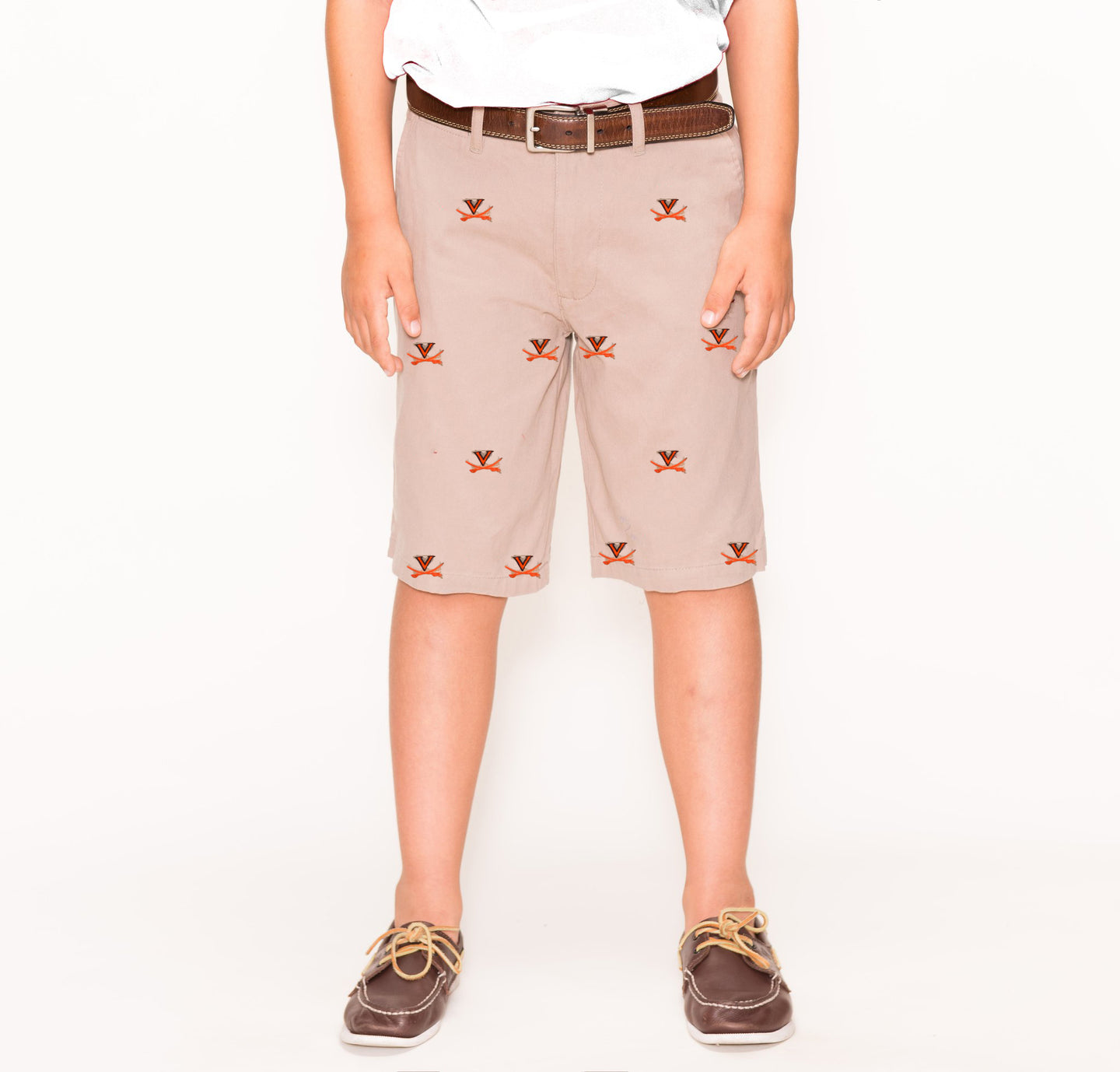Virginia Boy's Stadium Short Khaki