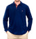 Virginia Men's Long Sleeve Navy Polo