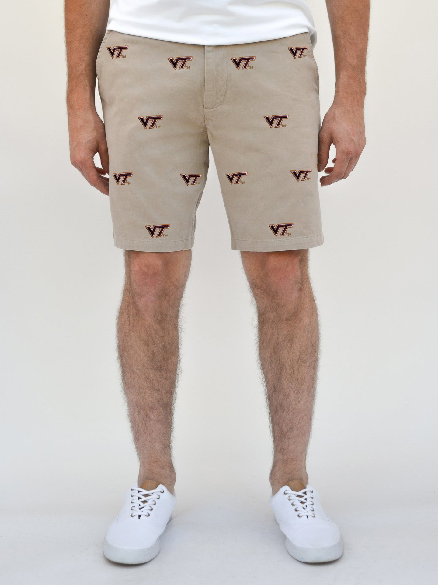 Virginia Tech Khaki Shorts