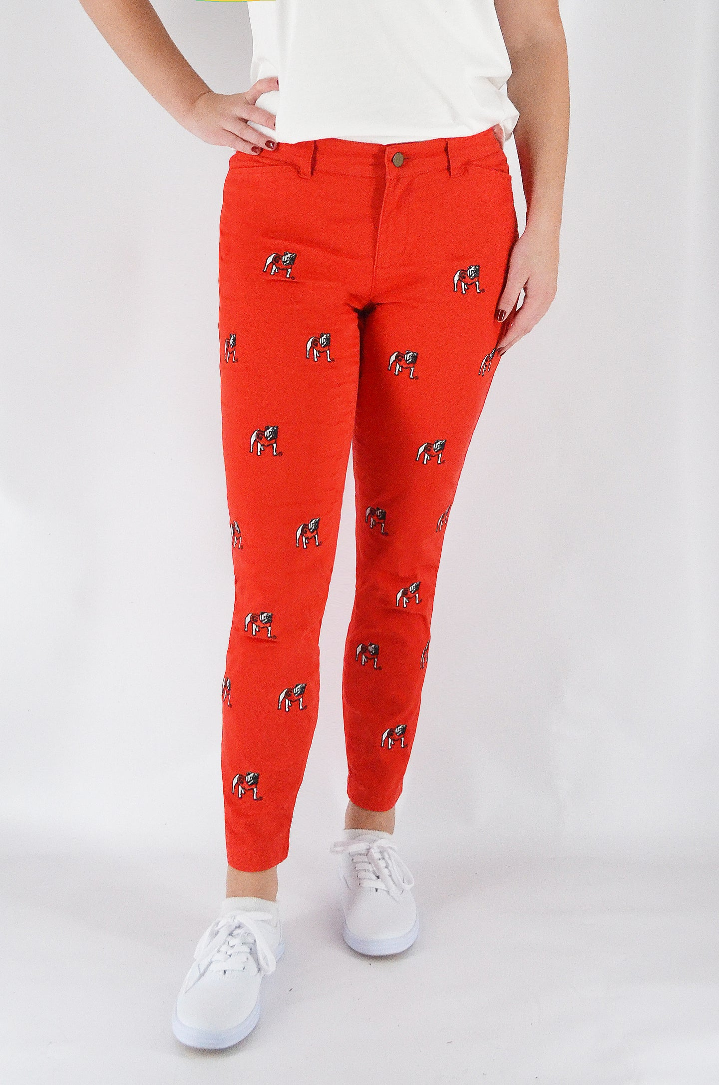 Georgia Women's Red Pant