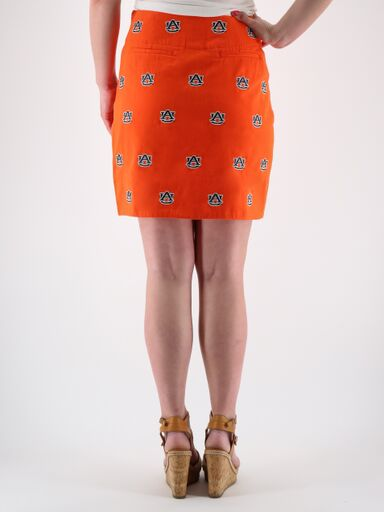 Auburn Orange Skirt
