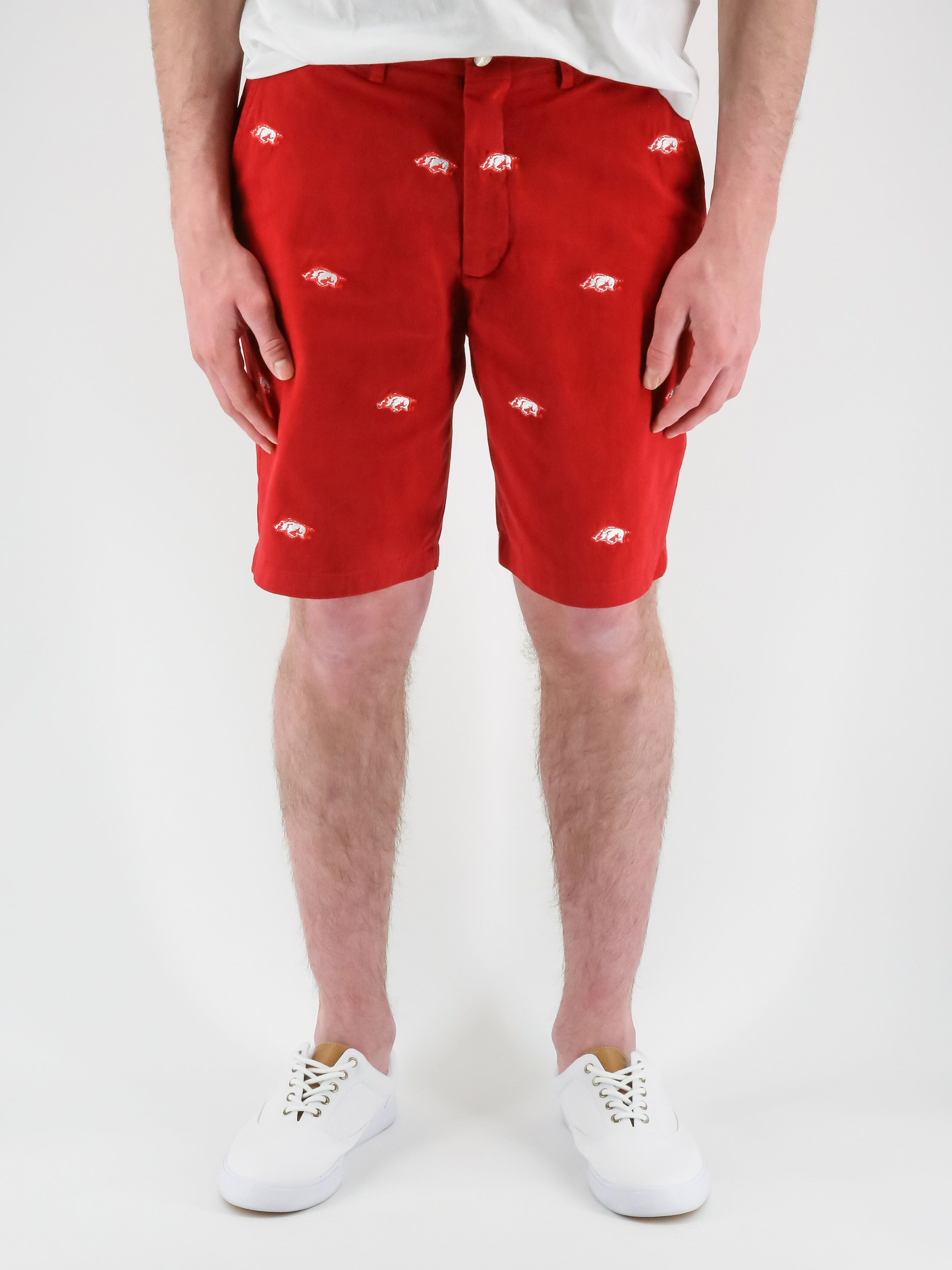 Arkansas Razorback Red Shorts