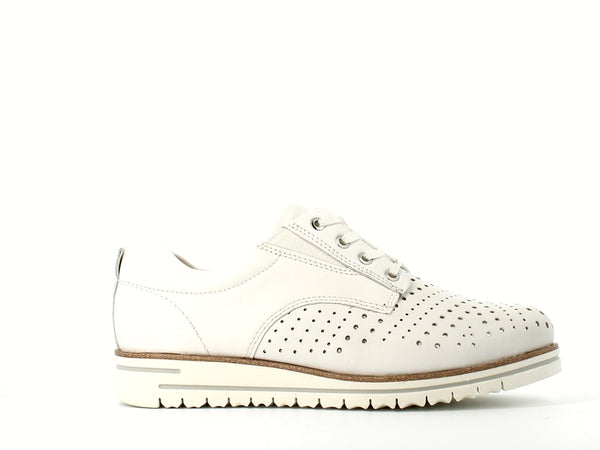 Tamaris Summer Brogue White