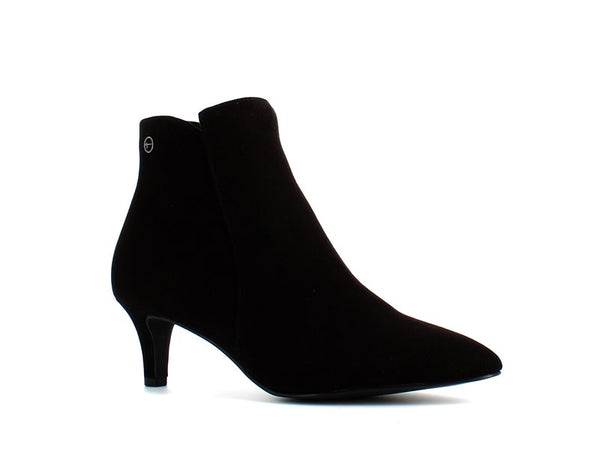 Tamaris Mid Heel Ankle Boot Black