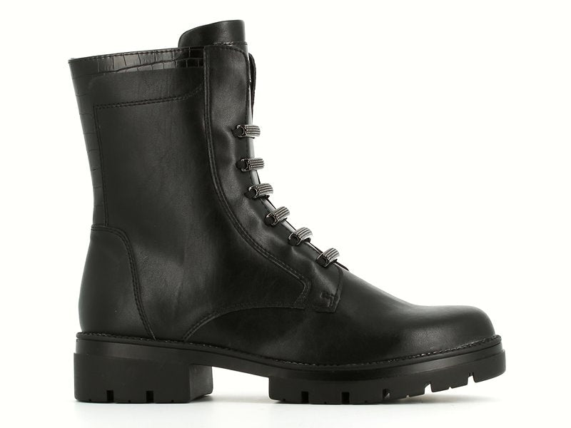 Tamaris Chunky Biker Boot Black
