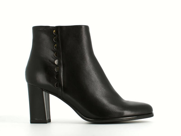 Tamaris High Ankle Book Black Leather