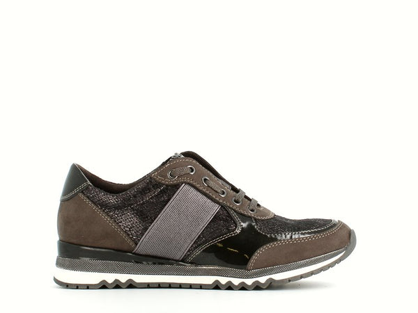 Marco Tozzi Trainer Dark Grey Metal