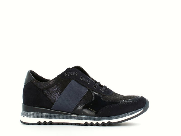 Marco Tozzi Trainer Navy Metal