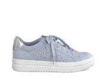 Marco Tozzi Laced Trainer Gem Blue