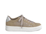 Marco Tozzi Laced Trainer Gem Nude