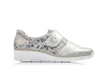 Rieker Velcro Trainer Grey Multi
