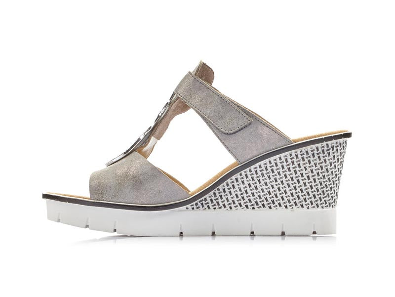 Rieker Wedge Sandal Ice