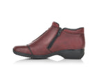 Rieker Low Double Zip Boot Medoc