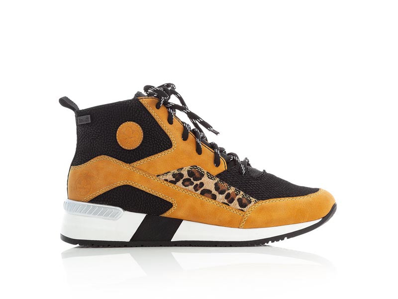 Rieker Casual High Top Leopard/Multi