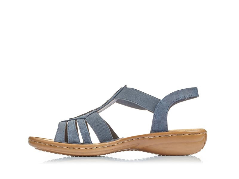 Rieker Low Strappy Sandal Navy