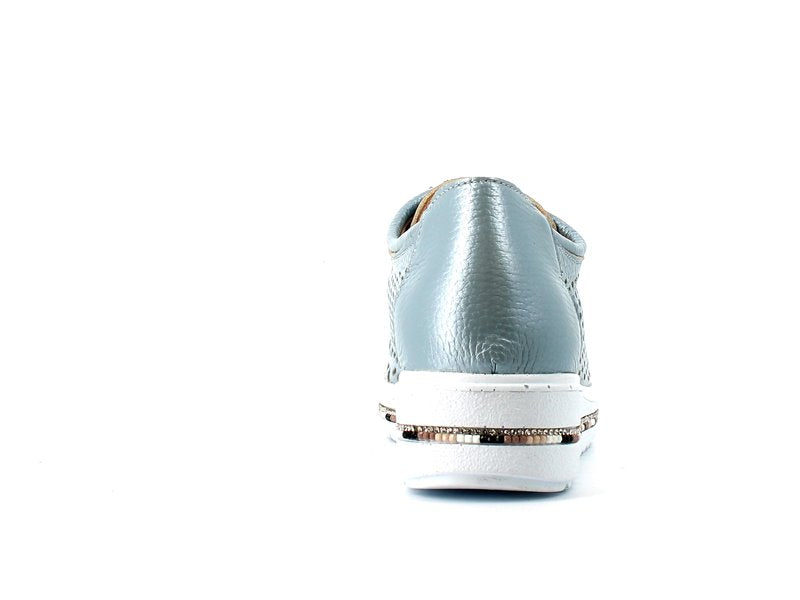Cinders Summer Brogue Blue/Silver