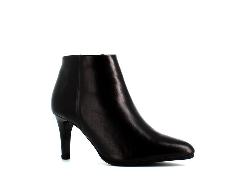 Rizzoli Low Heel Ankle Boot Black