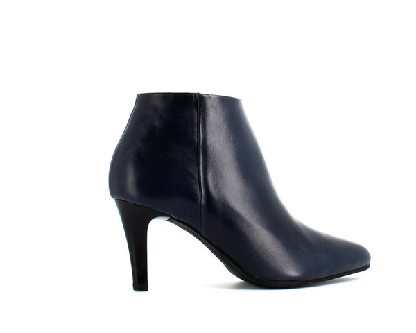 Rizzoli Low Heel Ankle Boot Navy