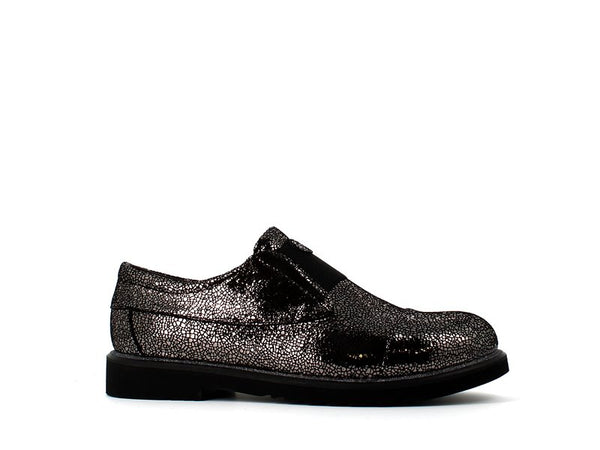 Cinders Metallic Brogue