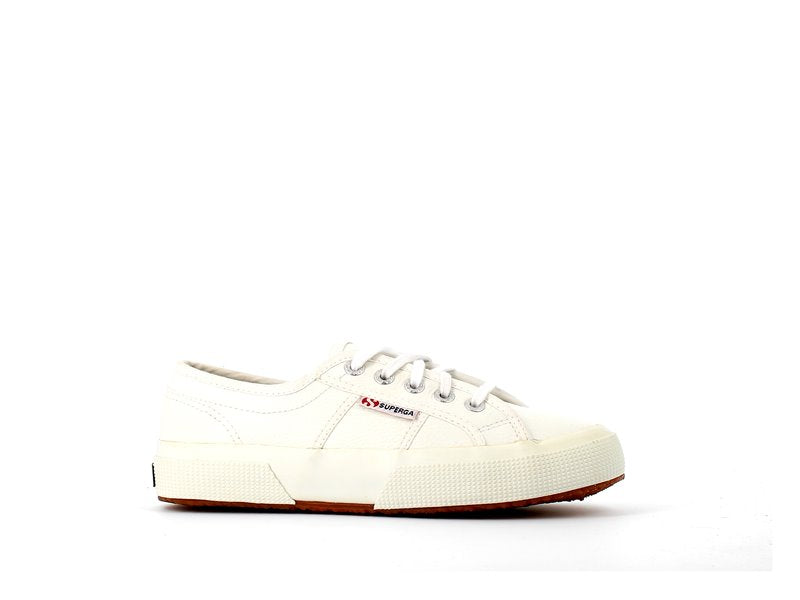 Superga 2750 Leather Trainer White