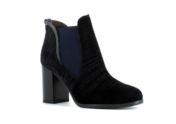 Harlem Ankle Boot Denim