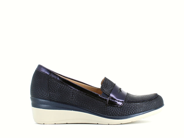 Pitillos Wedge Loafer Navy