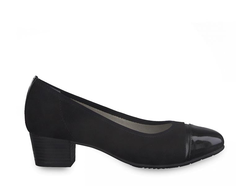 Jana Classic Low Court Black