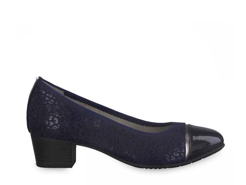 Jana Classic Low Court Navy