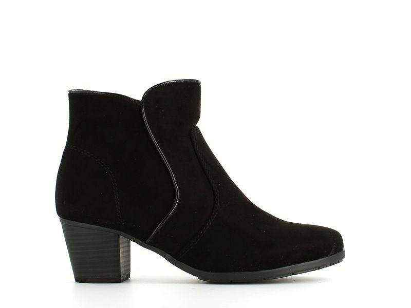Jana Ankle Boot Black Suede