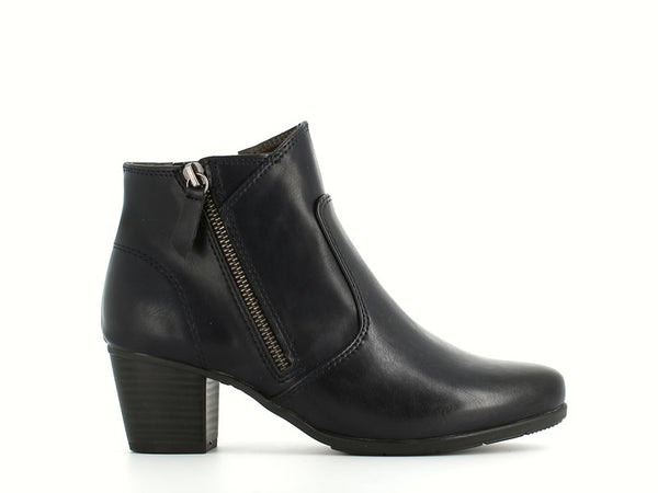 Jana Ankle Boot Navy